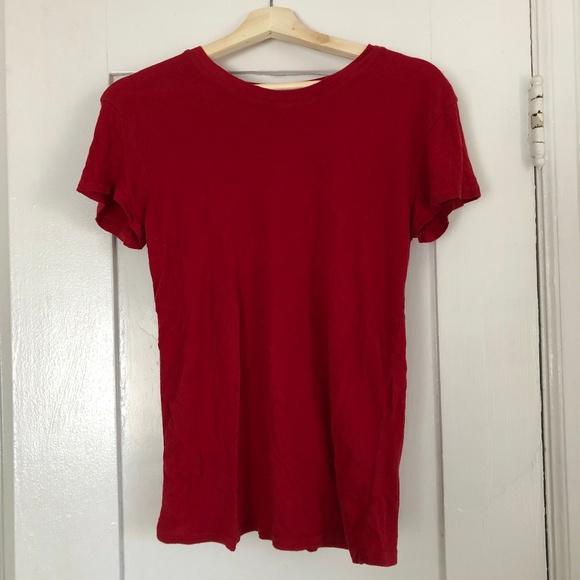 Brandy Melville Tops - Brandy Melville Basic Red Top